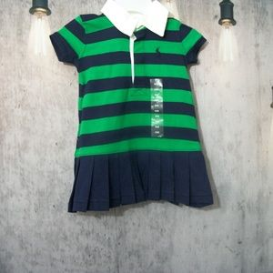 Girls Ralph Lauren 2-piece Dress 9 Months